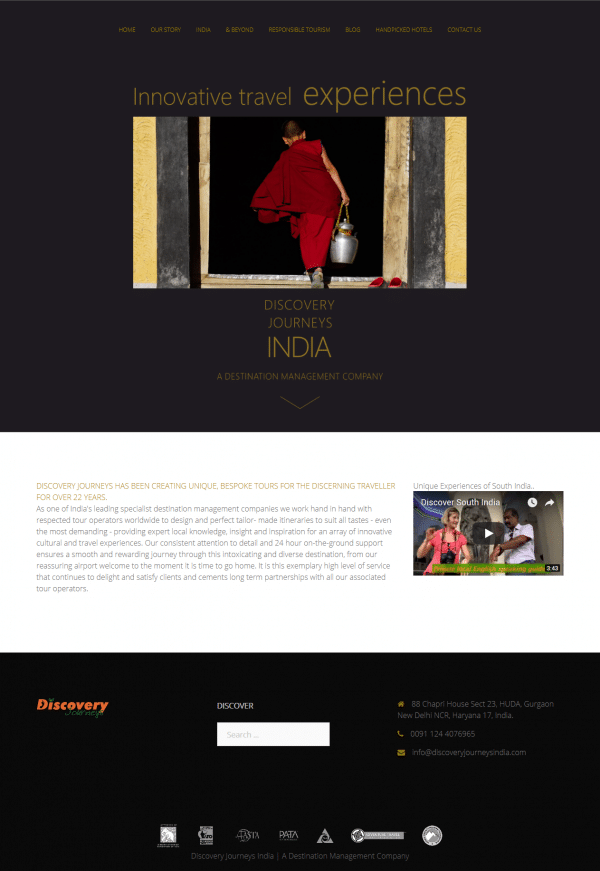 Discovery Journeys India