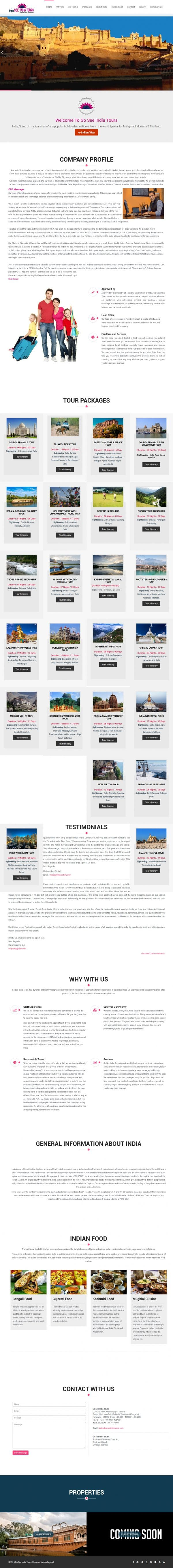 Go See India Tours