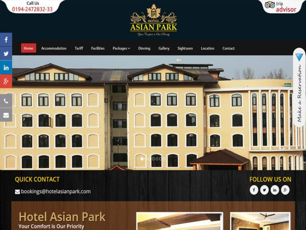 Hotel Asian Park