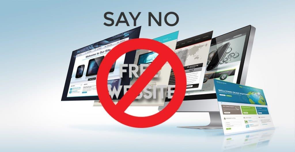 Free website effect